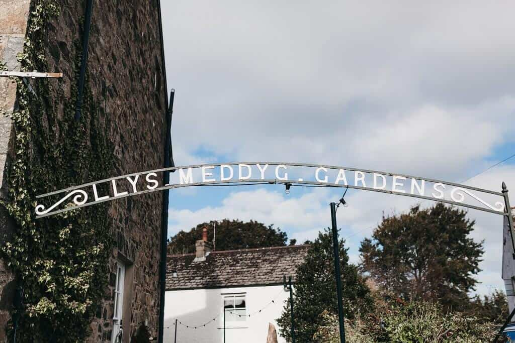 llys meddyg newport pembrokeshire gardens archway