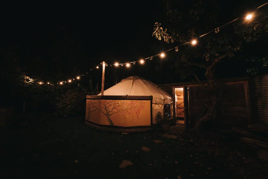 yurt luxury accommodation llys meddyg newport pembrokeshire